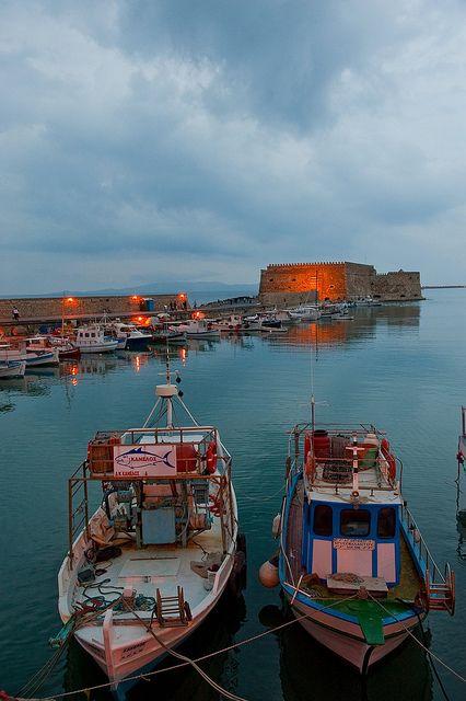 Crete - Heraklion port