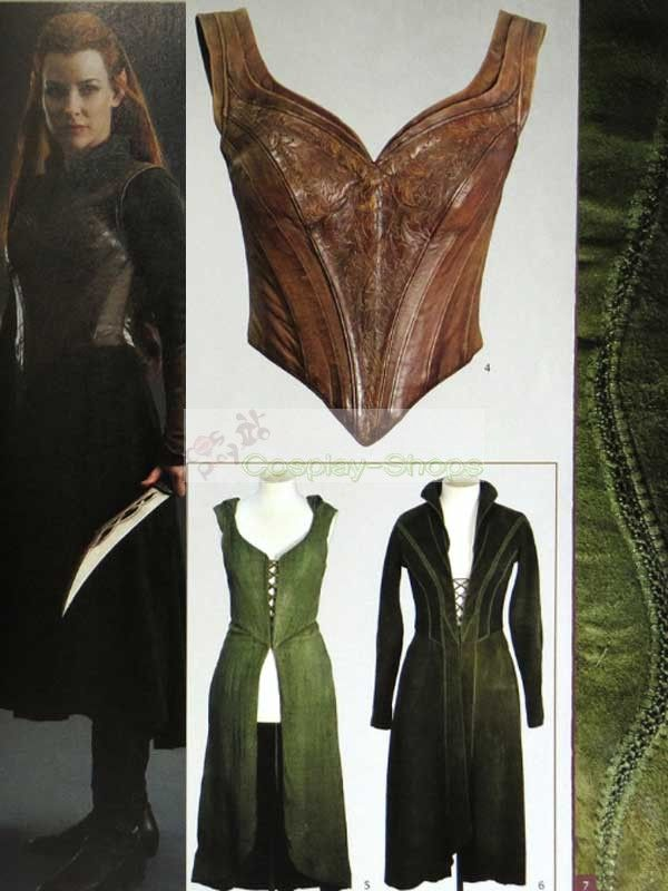The Lord of the Rings / The Hobbit Tauriel Cosplay Costume