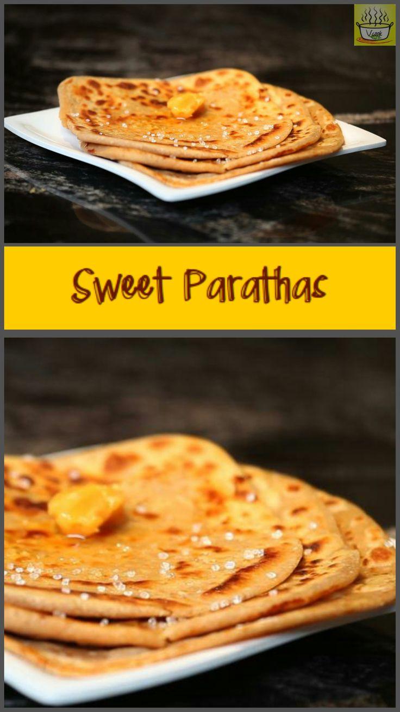 Sweet flat-bread  #lunch, #dinner, #vegetarian, #quickmeals, #lunchbox, #dessert, #sugar, #jaggery