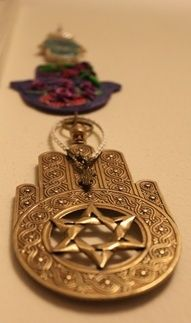 Beautiful Moroccan Jewish Hamsa.