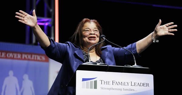 MLK's niece Alveda King voted for Trump.