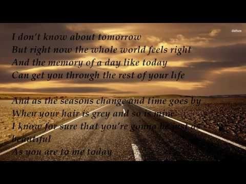 Brad Paisley - Today Lyric [New Single] - YouTube