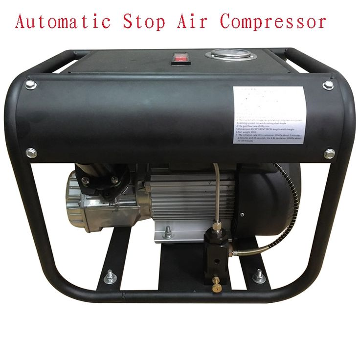 582.47$  Watch now  - New JUFENG 110V 300bar Automatic Stop High Pressure Portable 4500psi Electric Air Compressor PCP Pump
