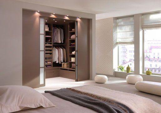 Dressing room + bed room