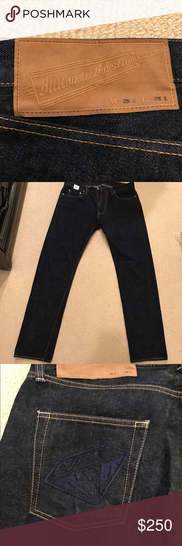*Limited Time Price!* Billionaire Boys Club Jeans In almost perfect condition, dark wash! Great deal for limited time! 31 x 31 Billionaire Boys Club Jeans