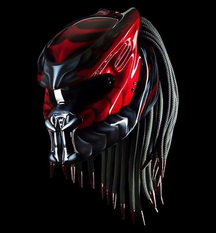 Predator Helmet Motorcycle Dot #NHK #Predator