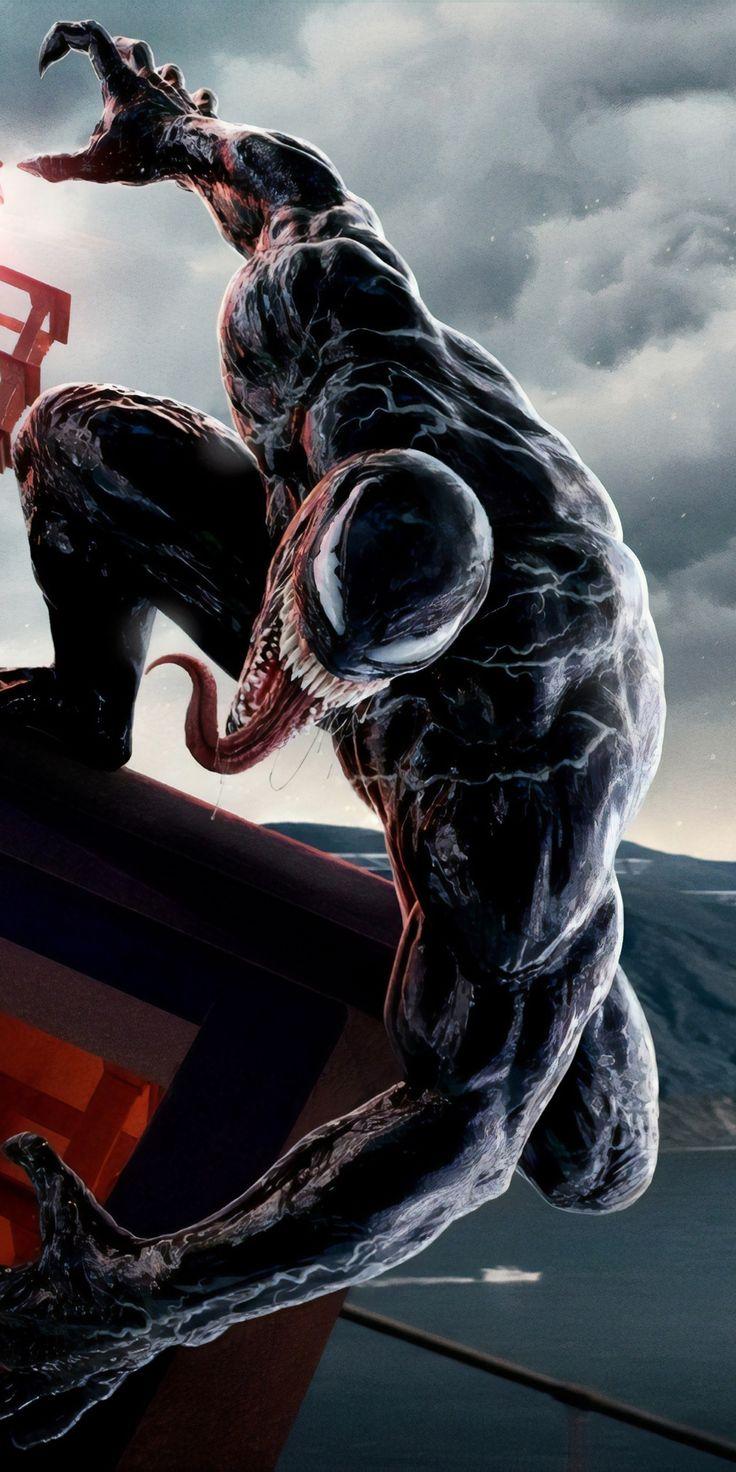 Venom, super villain, art, 2018, 1080x2160 wallpaper