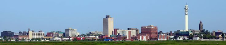 Pretty Moncton skyline pic in a funny story about how news stations have trouble with their accuracy!
