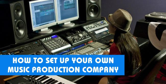 How To Set Up Your Own Music Production Company | ProducerSpot http://www.producerspot.com/how-to-set-up-your-own-music-production-company