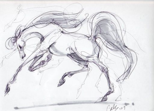 Drawing ideas - horse