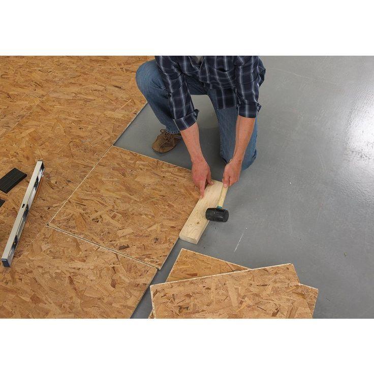 DRIcore 2-ft X 2-ft Basement Subfloor Panel
