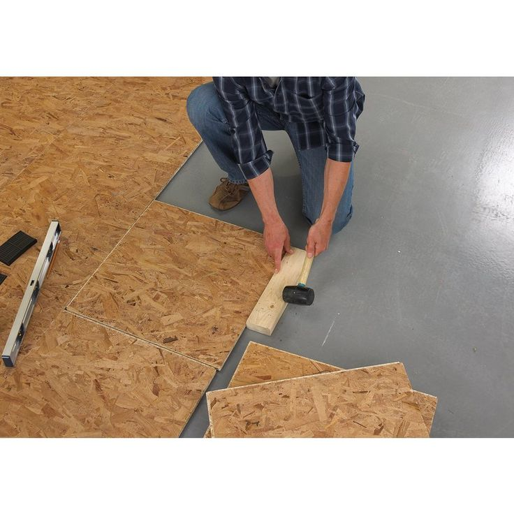 Basement Subfloor Options For Dry Warm Floors: DRIcore 2-ft X 2-ft Basement Subfloor Panel