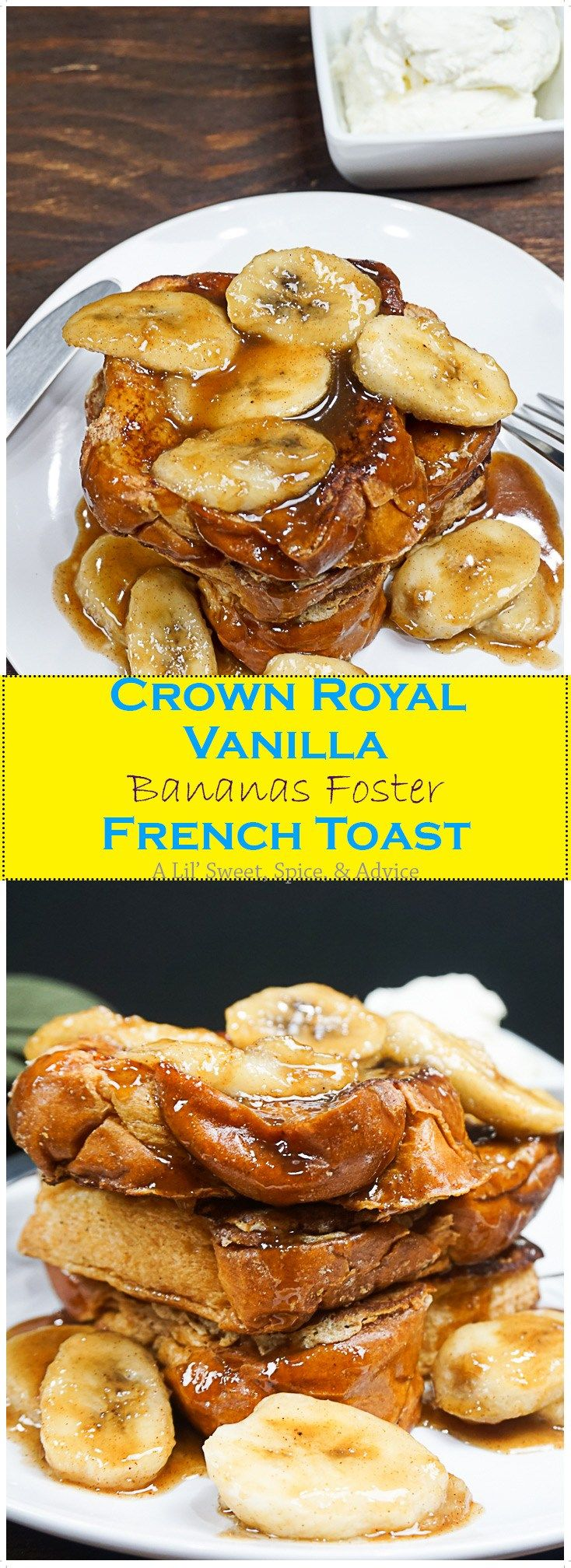 The 25 best crown royal vanilla recipes ideas on pinterest crown royal vanilla bananas foster french toast forumfinder Images