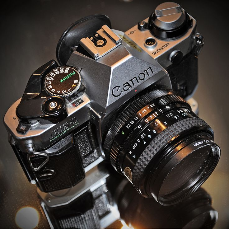 Kamera analog pertama ane. Canon AE-1 Program.