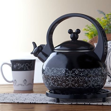 Gourmet Mickey Mouse Tea Kettle Kitchen Dinnerware Adults Disney Store