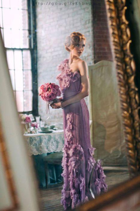 Dama de honor en color #VioletTulip #Bridesmaid #dress #Wedding #YUCATANLOVE