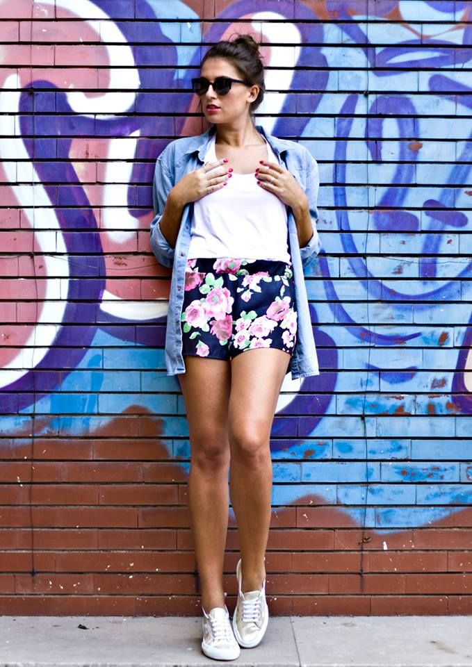 Maimadi Flowers Shorts http://www.modaporter.it/home/free-to-be/