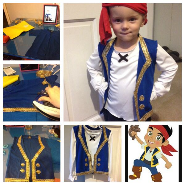 DIY jake and the Neverland pirates