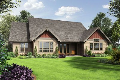 3 Bed Craftsman with Loft and Games Room - 69648AM thumb - 02