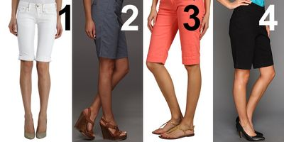 The Best Shoes for Different Styles of Women's Shorts