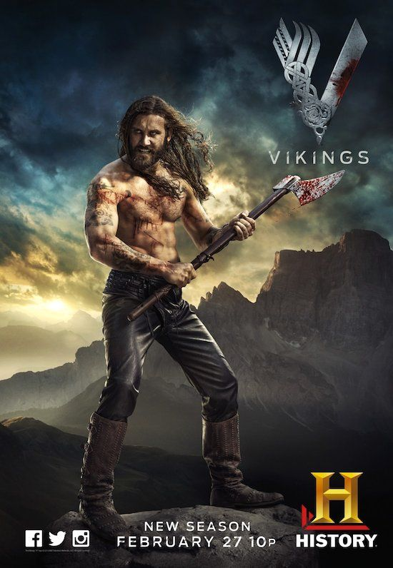 """ACTION PACK TV SERIES """"VIKING"""" TRAILER NOW RELEASES WITH EVEN MORE ACTION AND WILL BE SHOWING SEASON 3 THIS 2015!"""