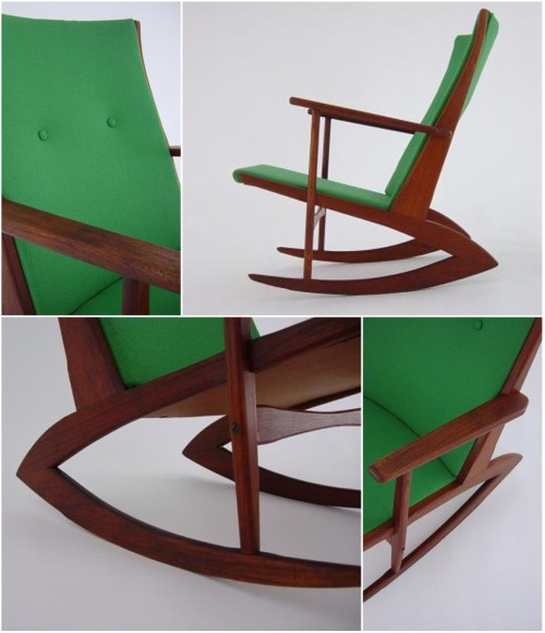 Mid Century Rocker: Just another beautiful chair to love.
