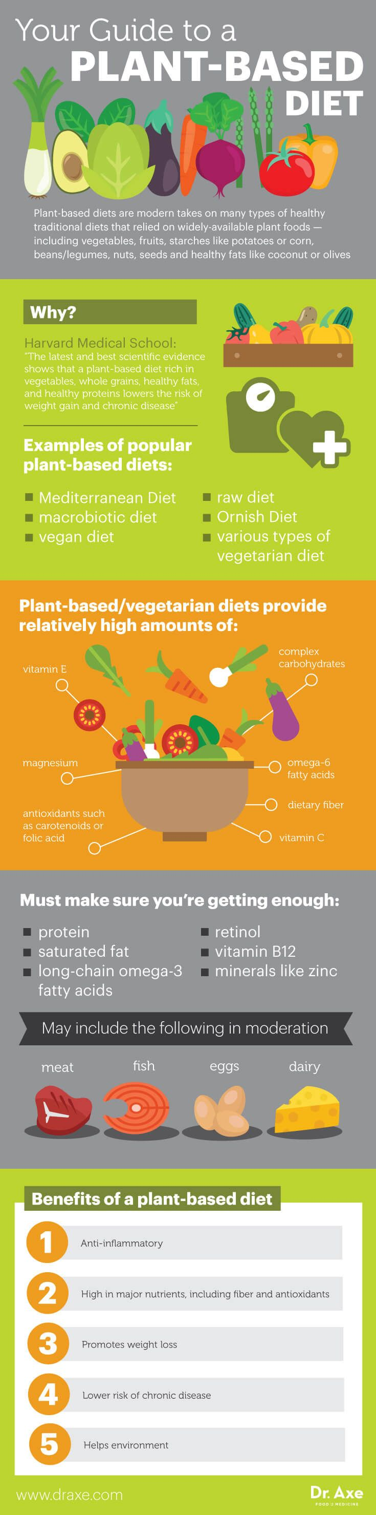 Plant-Based Diet: Disease-Protective Promotes Major Weight Loss - Dr. Axe