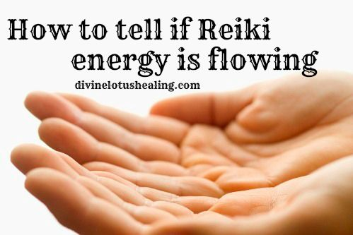 Divine Lotus Healing   How to Tell if Reiki Energy Is Flowing