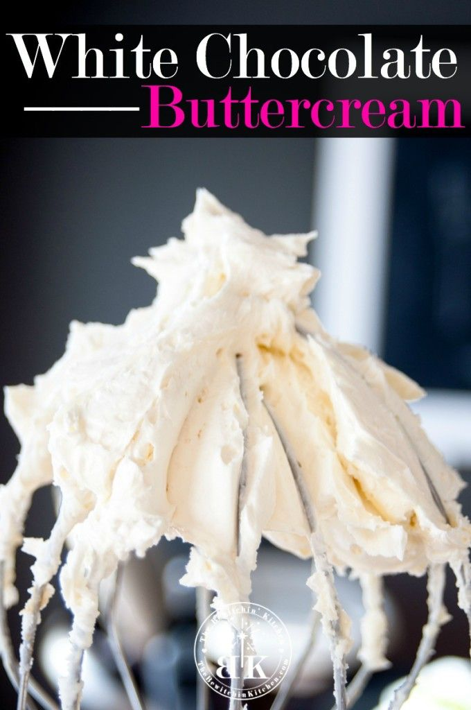 White Chocolate Buttercream recipe - Looking for frosting recipes This makes for an amazing dessert - just try to save some for the cake andor cupcakes  The Bewitchin' Kitchen