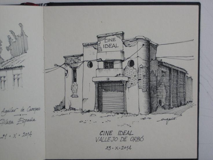 Cine Ideal. Primer cine de la provincia de Palencia. Vallejo de Orbó, Palencia.