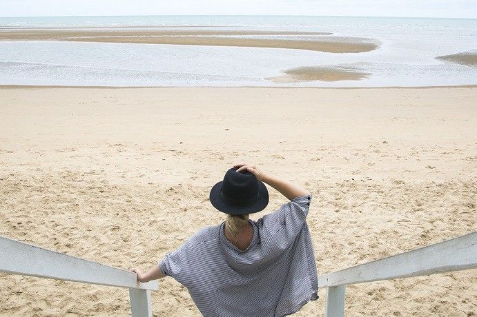Put the sand between your toes with a stroll along Hervey Bay's Scarness Beach #thisisqueensland