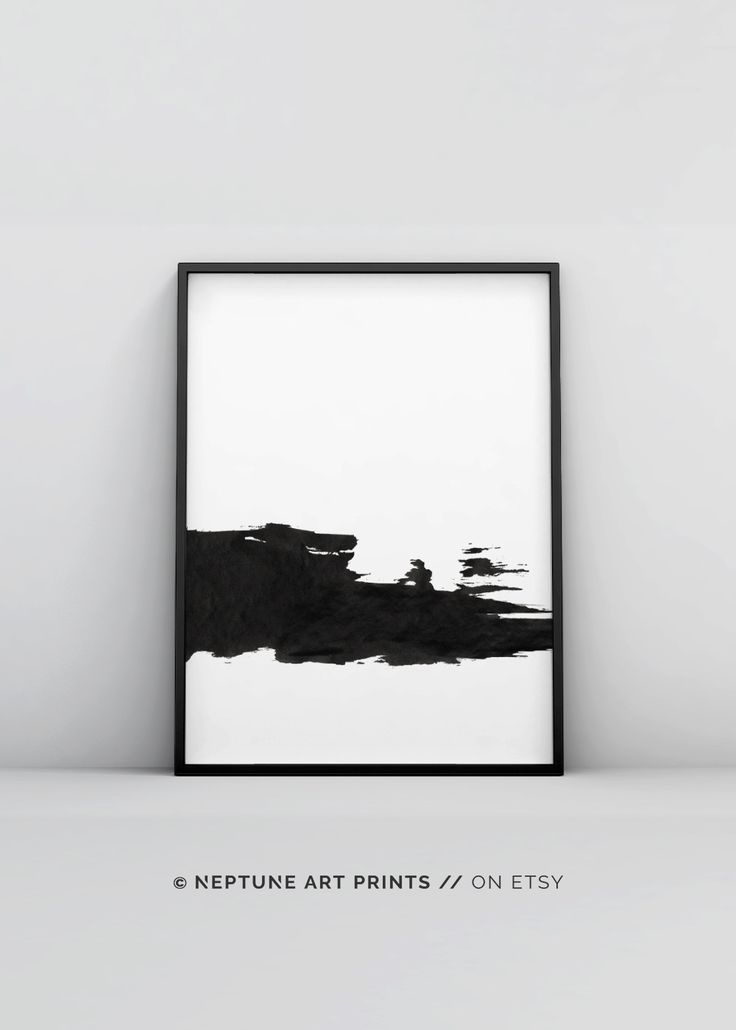 Black And White Print Printable Minimalist Black And White Wall Art Brush Strokes Art Minimal Wall Art Abstract Poster Bedroom Decor Abstract Art Diy Black And White Wall Art Free Wall