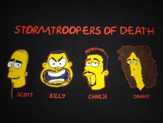 Vintage 1990s S.O.D Stormtroopers of Death by TwistedFabrics