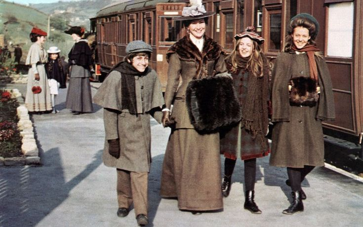 """The Railway Children"" (1970), Directed by Lionel Jeffries, Starring Dinah Sheridan, Bernard Cribbins, Gary Warren, Sally Thomsett and Jenny Agutter."