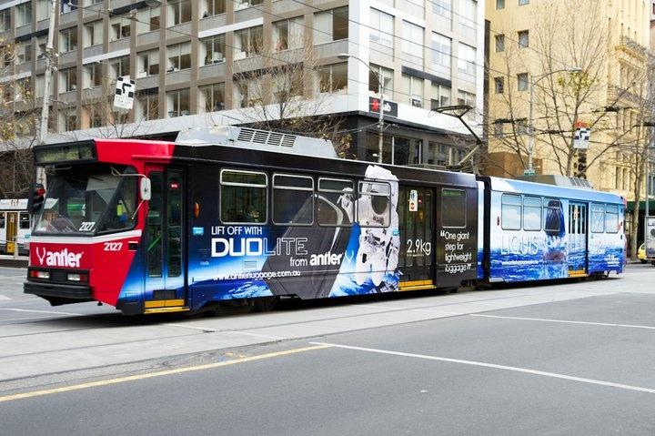 Antler Duolite y Liquis en Tren urbano
