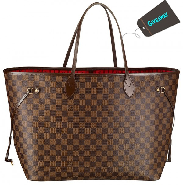 "Just Entered To Win A Free Louis Vuitton Neverfull MM Brown Bag.  It's a ""Must Enter!"" - #louisvuitton #giveaway"