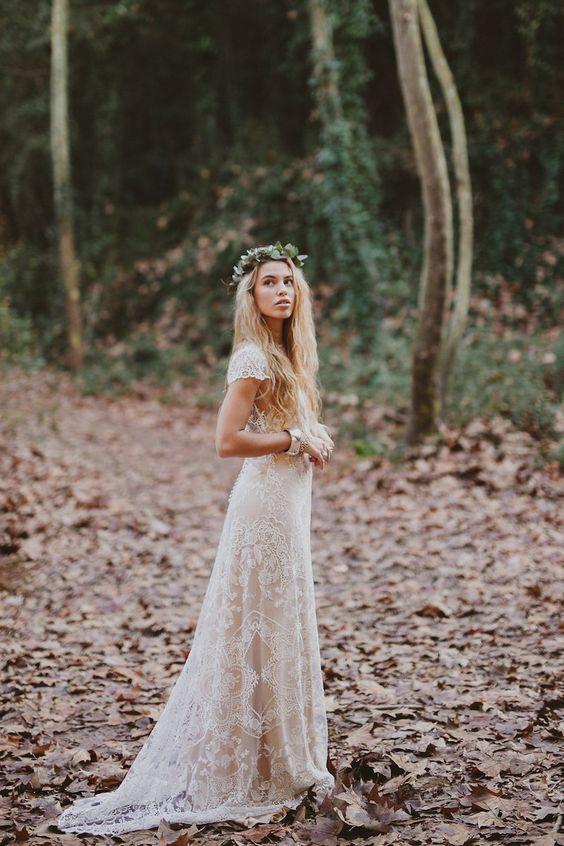 Robe mariée bohème