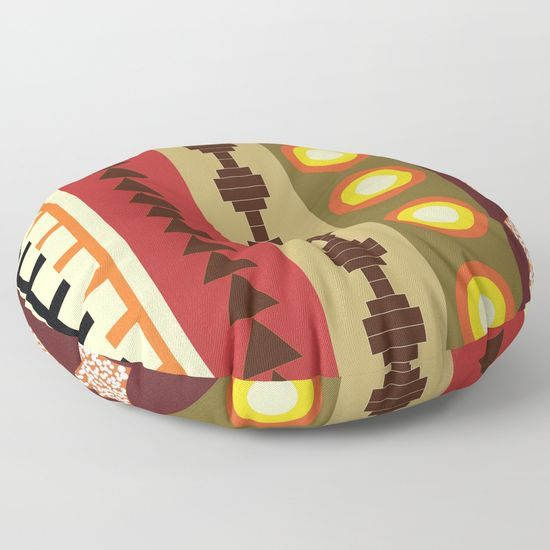 African tribal floor pillowfloor cushionfloor pillow