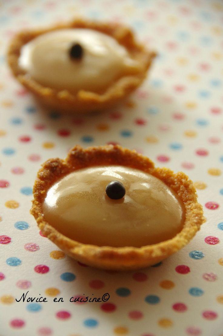 Minis tartelettes caramel beurre salé - Le blog de novice en cuisine
