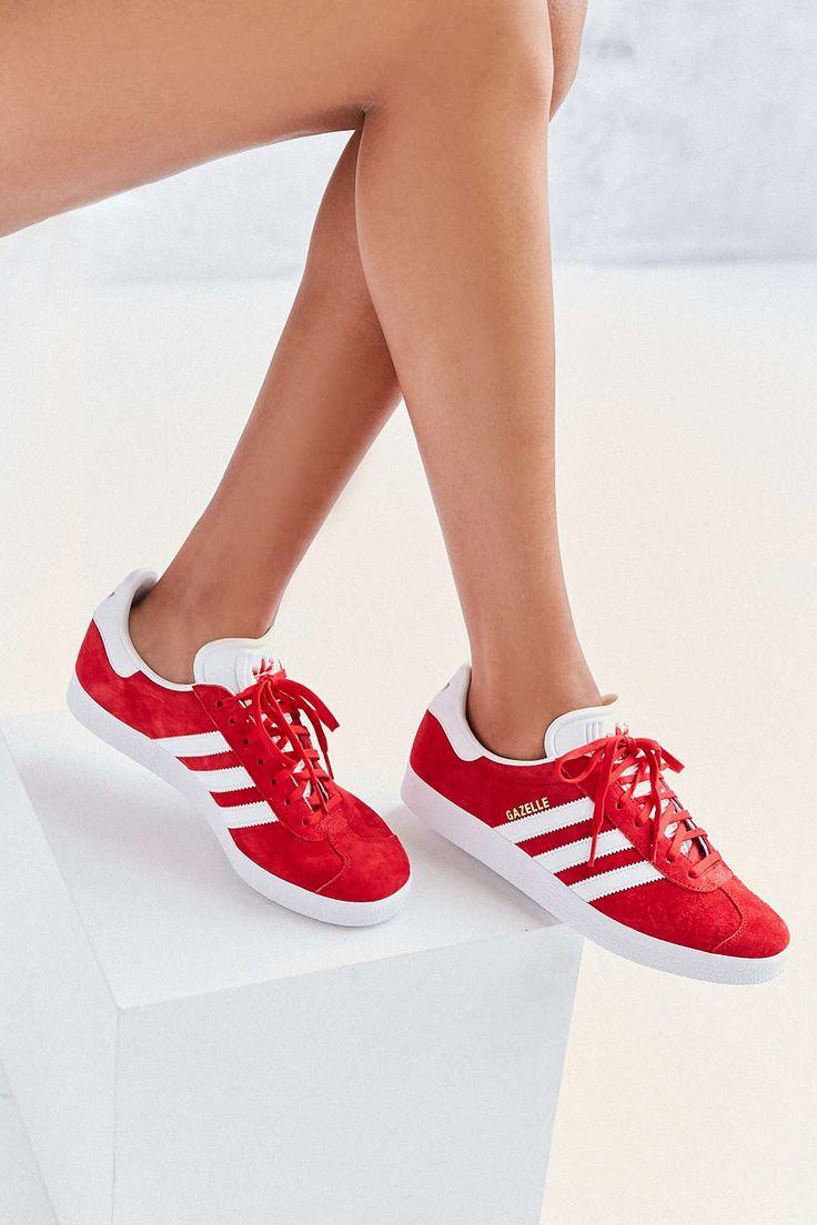 Adidas Sneaker Weiß Blau Rot