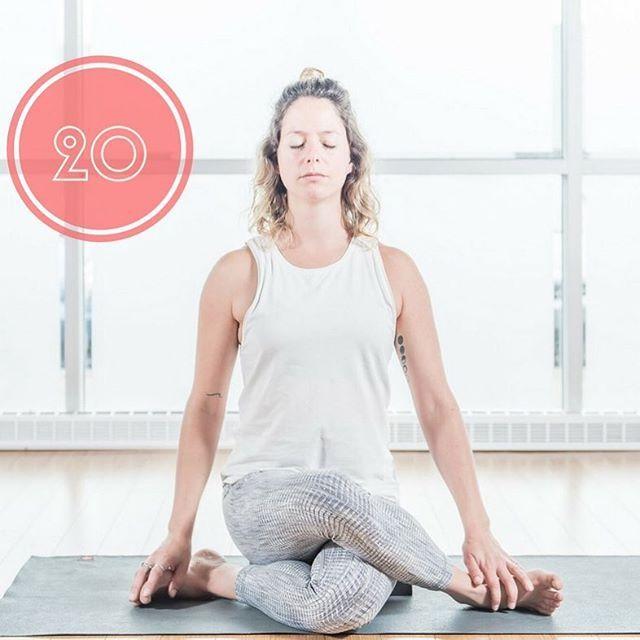 Avec une pratique régulière, Gomhukasana pourra redresser un dos voûté, ouvrir la poitrine, assouplir vos épaules et améliorer la flexibilité de la cage thoracique en étirant les muscles dorsaux. Elle facilitera la prise de conscience de la zone respiratoire au niveau de la poitrine! #gomhukasana #flexible #flexibility #yoga #yogalife #yogalove #defi30jours #posture