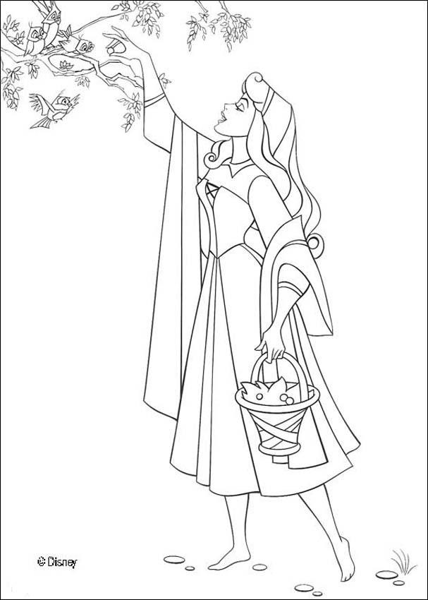 disney aurora coloring pages - photo#19