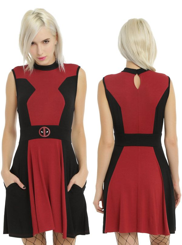 Deadpool Cosplay Dress
