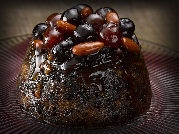 The perfect Christmas dessert: Simply Better Slow Steamed Cherry and Champagne Pudding
