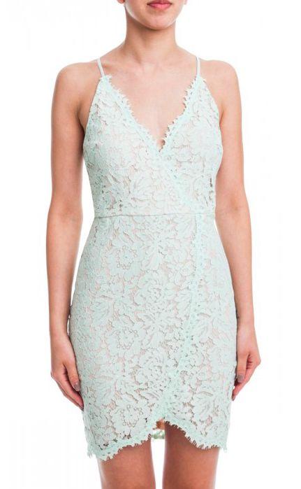 Cute Mint lace Dress