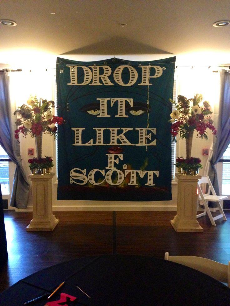 Drop it like f Scott! #gatsby #scott #sorority