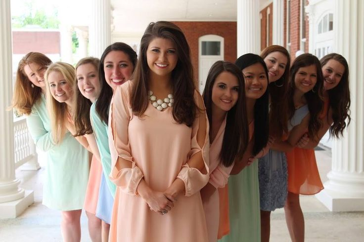 Cute photo to take of your chapter council
