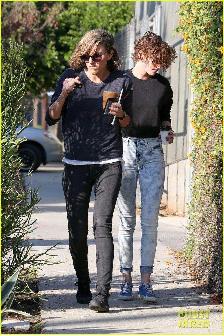 Kristen Stewart & Alicia Cargile Spend Quality Time Together | kristen stewart alicia cargile morning coffee 02 - Photo