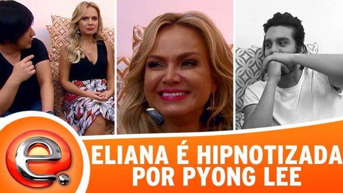 Eliana vê Luan Santana nu e fica constrangida; assista