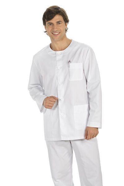 Sanidad, blusón sanitario, vestuario laboral, ropa de trabajo, ropa profesional www.dyneke.com